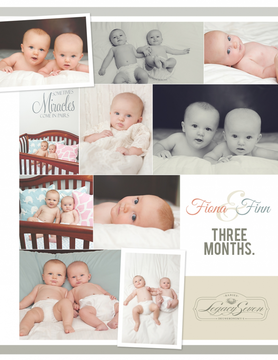 three month twins newborn photographer legacy seven d